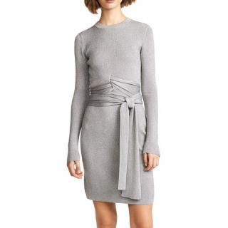 Phillip Lim lurex rio wrapped waist dress