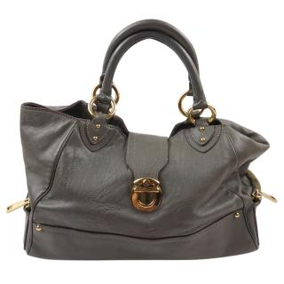 Marc Jacobs Elephant Grey Large Tote Bag