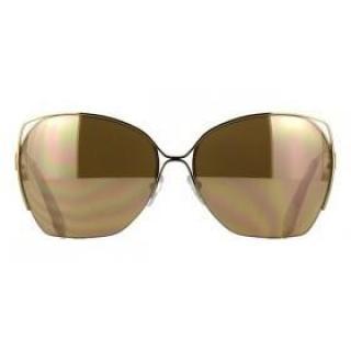 Victoria Beckham Fine Wave 18ct Mirror Sunglasses