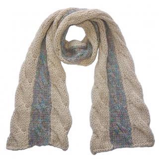 Missoni Foulard Wool Knit Scarf