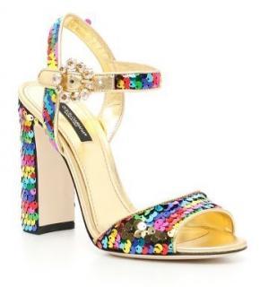 Dolce & Gabbana sequin kiera sandals