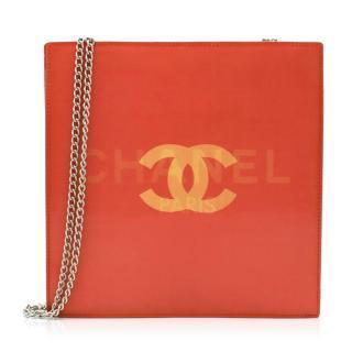 Chanel Rare Vintage Holographic Vinyl Bag