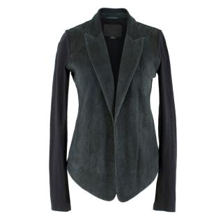 Alexander Wang Suede & Cotton Jacket