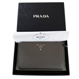 Pada Medium Saffiano Leather Wallet