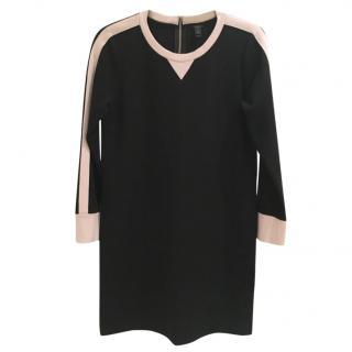 J Crew Black Jersey Dress