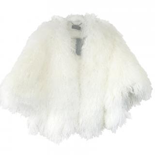 Ralph Lauren Mongolian Fur Cape