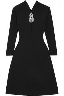 Balenciaga crystal embellished stretch dress