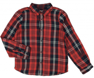 Bonpoint boys check shirt