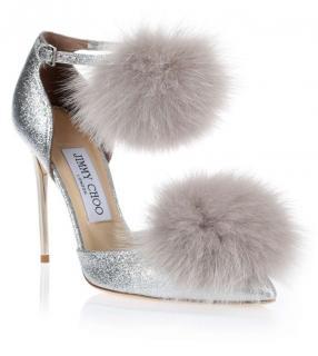 Jimmy Choo Pom Pom Dolly Sandals