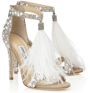 Jimmy Choo Crystal Viola Sandals