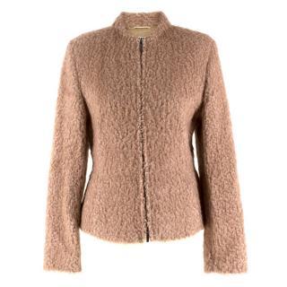Ambiente Tan Shearling Jacket