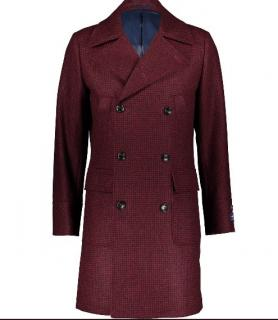 Sterling 1858 Men's Moon Tweed Peacoat
