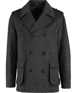 William Hunt wool & cashmere blend peacoat