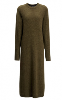 Joseph Army Green Wool Jo Dress