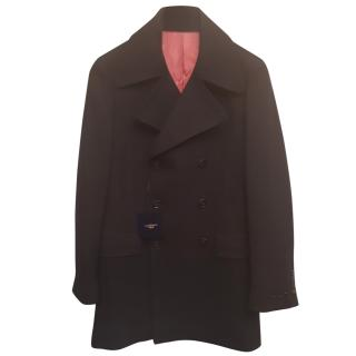 Holland Esquire Men's wool blend pea coat 2 sizes available 38 & 42