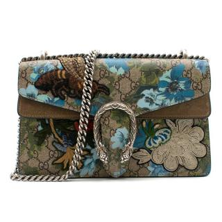 Gucci Small Dionysus Embroidered GG Canvas Bag