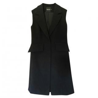 Natan crepe long waistcoat
