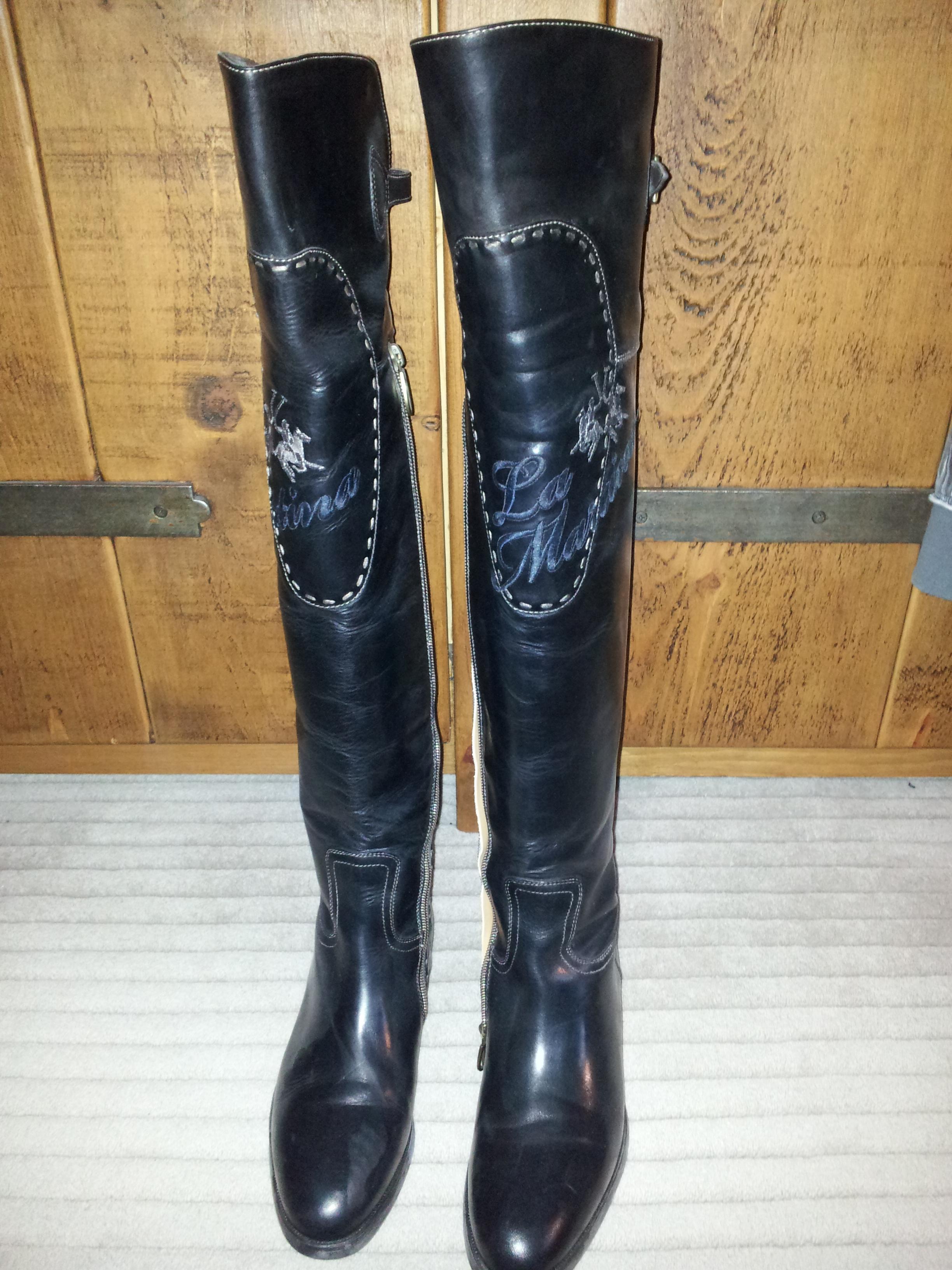 La Martina Knee High Boots new
