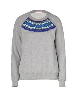 Matthew Williamson Grey Sweatshirt new