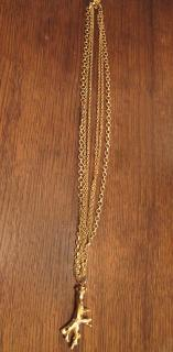 Kara Ross triple necklace