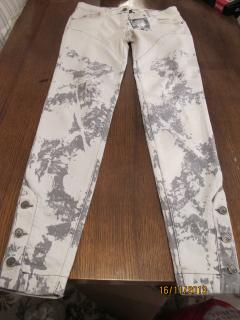 McQ white distressed jeans