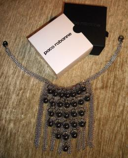 Paco Rabanne Runway Mesh Necklace