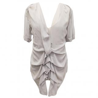 Donna Karan silk top