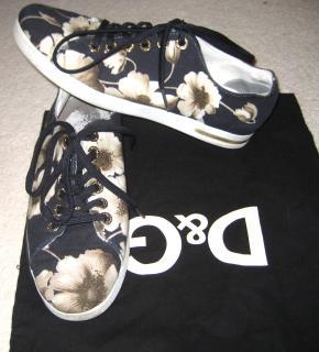 Dolce Gabbana canvas shoes