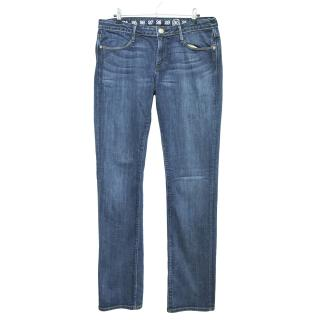 Earnest sewn mens cigarette leg jeans