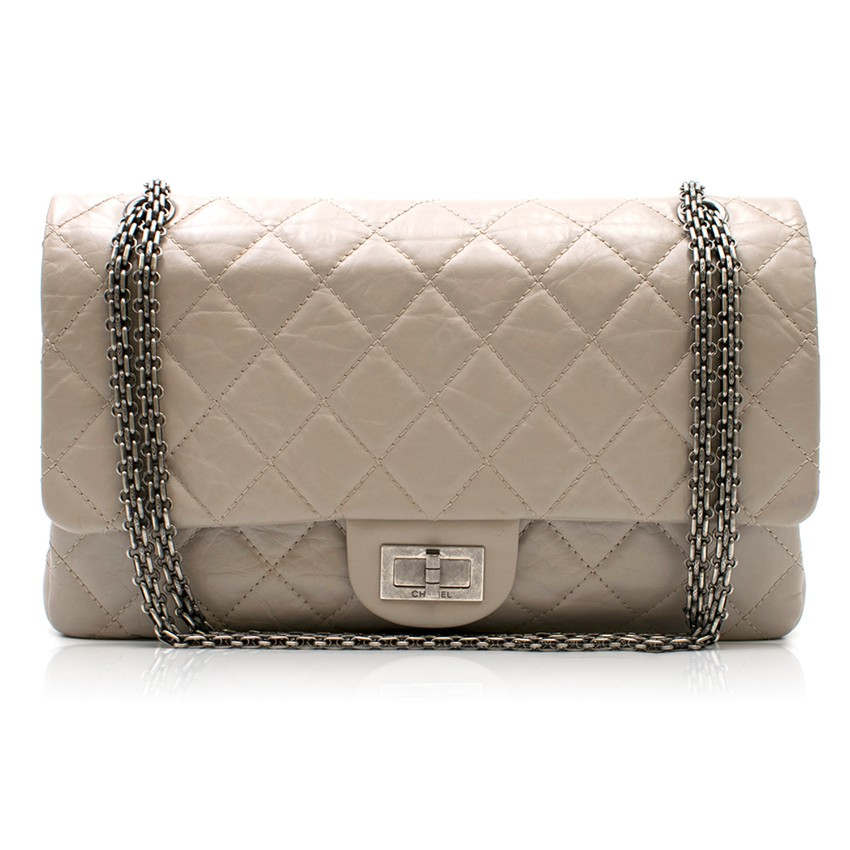 25fa1dcb5f497b Chanel Taupe 255 Reissue Flap Bag | HEWI London