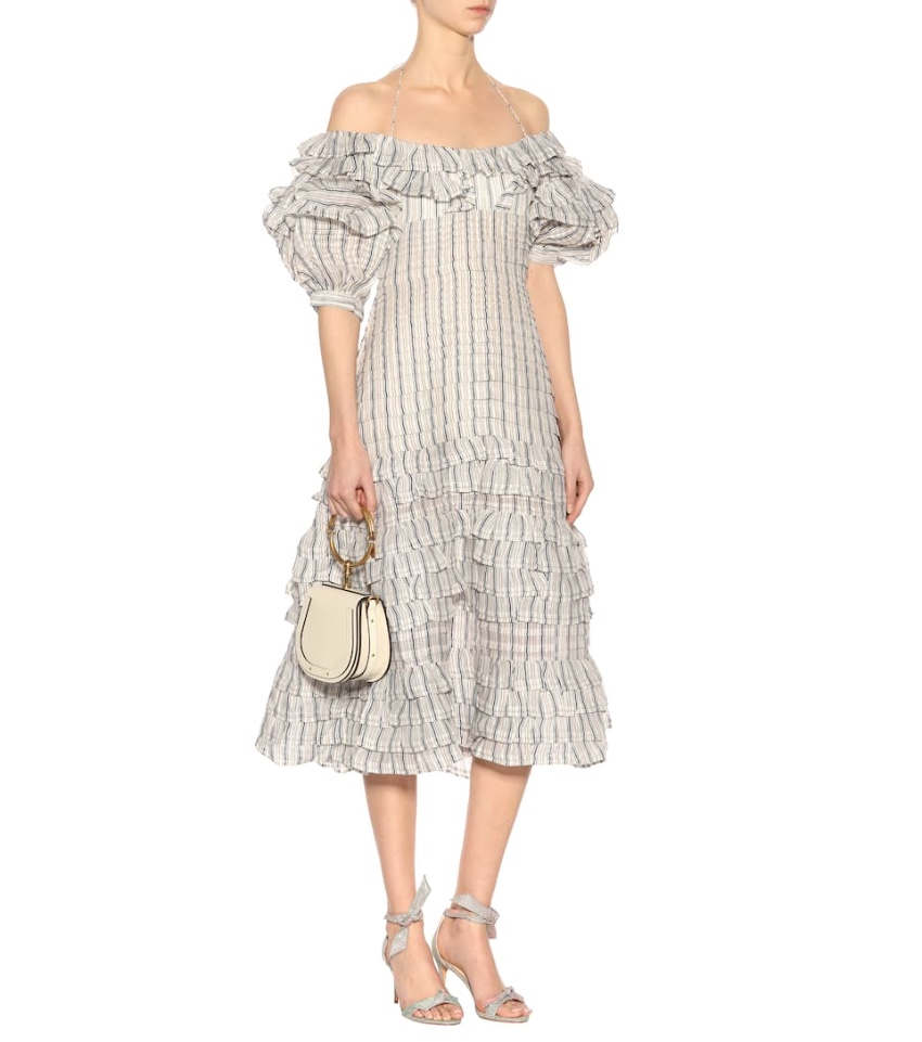 Zimmermann Painted Heart Folds Dress