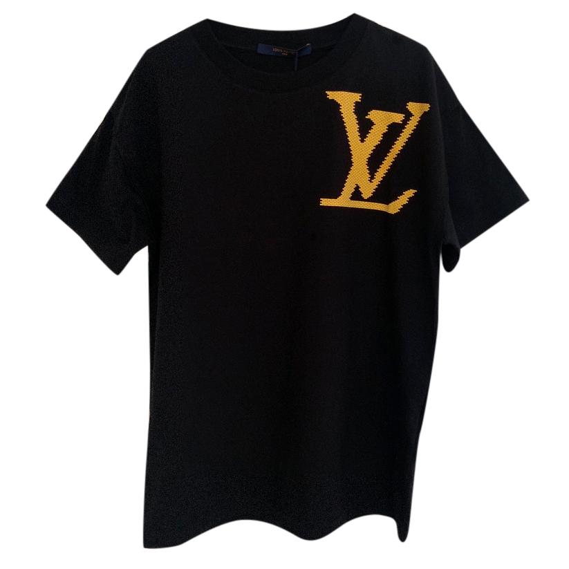 f121990d8a77 Louis Vuitton X Virgil Abloh Yellow Brick T Shirt