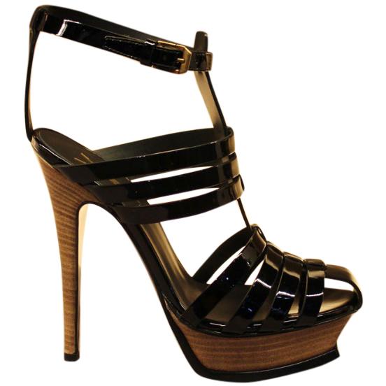 Yves Saint Laurent Tribute Roman Sandals