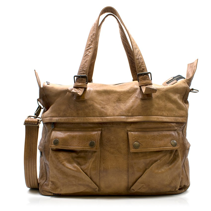 Belstaff Leather Hold All Bag