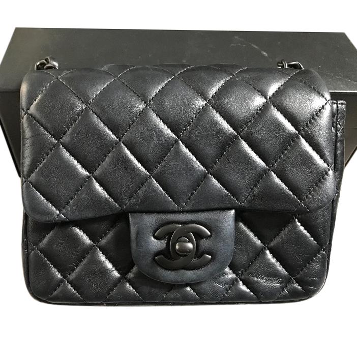 cd23273f04637f Chanel So Black Timeless Mini Bag | HEWI London
