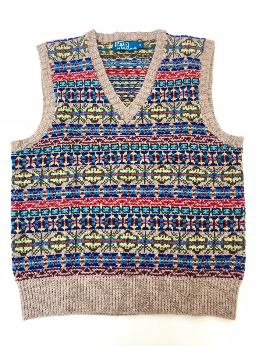2346ef70e Polo Ralph Lauren Fair Isle Wool Blend Vest