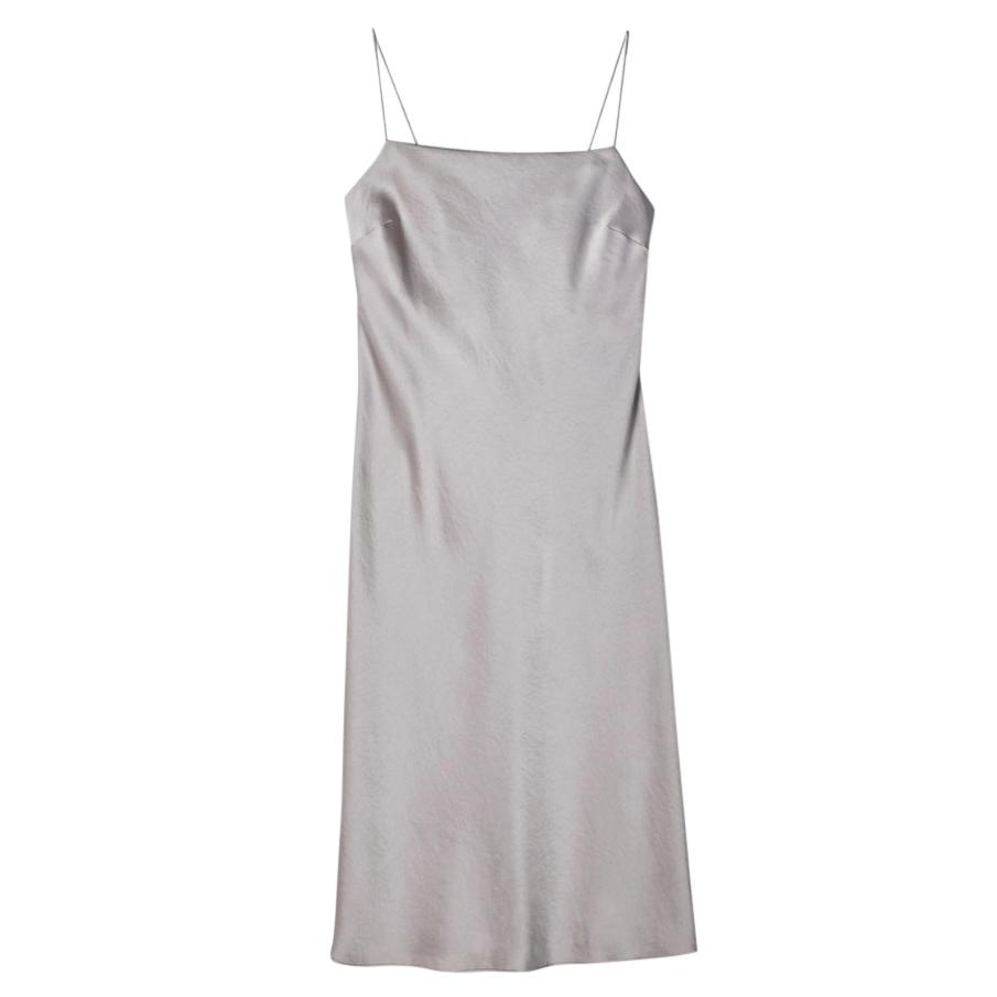 cabda24fbdb Filippa K Satin Oyster Slip Dress