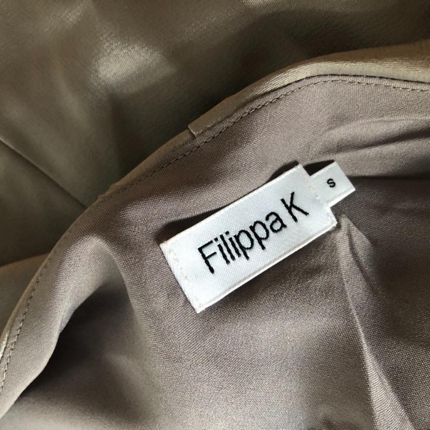 e87c8a41b26 Filippa K Satin Oyster Slip Dress. 22. 1234567