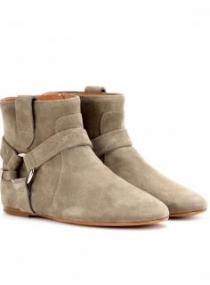 Isabel Marant Ralf taupe ankle boots