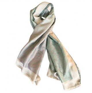 Louis Vuitton Monogram sunrise shine scarf