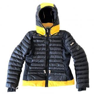 Toni Sailer quilted ski jacket with detachable hood