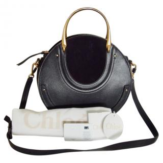 Chloe Navy Blue Pixie Bag