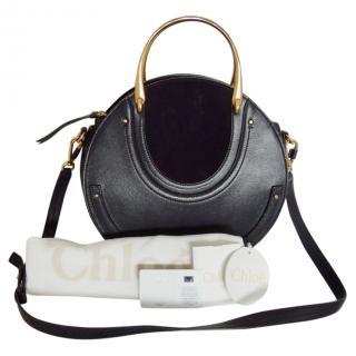 Chloe Navy Blue Pixie Bag