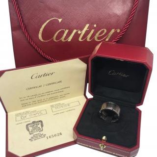 Cartier Tank Francaise 18k White Gold Ring