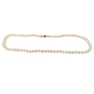 Akoya High Luster Pearl Necklace 18ct Gold