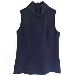 Ralph Lauren high neck crepe top