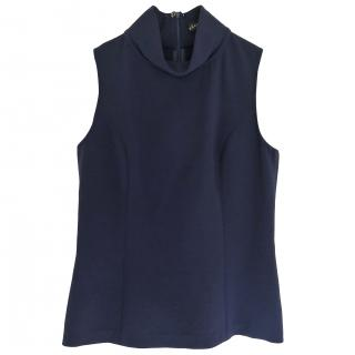 Ralph Lauren high neck crepe top
