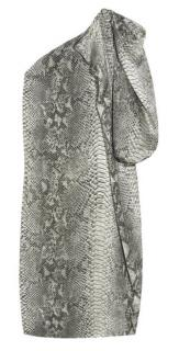 Stella McCartney Python print silk dress
