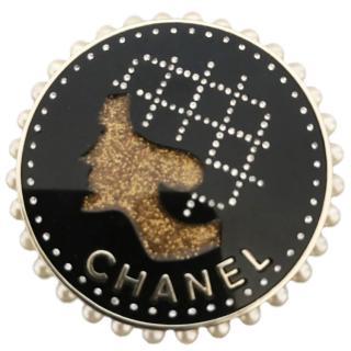 Chanel Coco Chanel Coin Brooch - BNWB