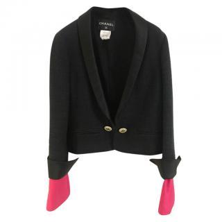 Chanel Tuxedo Jewelled Black Jacket